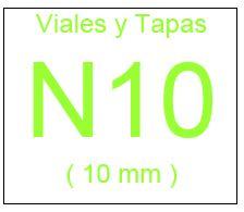 Viales , Tapas y Septas N10