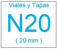 Viales , Tapas , y Septas N20