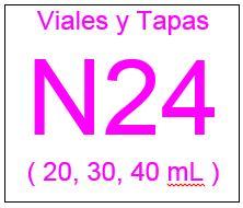 Viales , Tapas y Septas N24