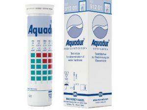 Aquadur y otras tiras reactivas