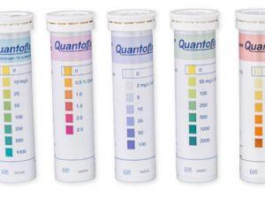 Quantofix Tiras reactivas para determinaciones semicuantitativas